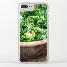 Salads Clear iPhone Case