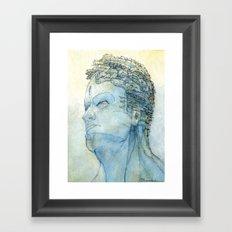 Ritratto di Fantasia color version Framed Art Print