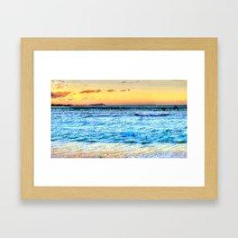 Hawaii/Diamond Head Framed Art Print