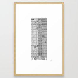 QV1 Perth Framed Art Print