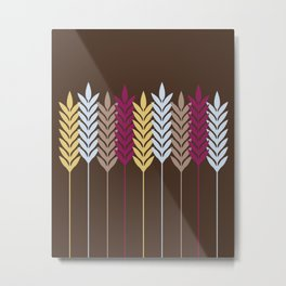 Harvest Wheat 4 Metal Print