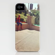 Spiderman, party of 1 Slim Case iPhone (4, 4s)