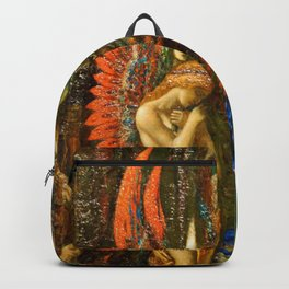 Portrait of the Goddess Saturn by Gustave Moreau Backpack
