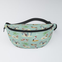The Ultimate Dog Vacation pattern Fanny Pack