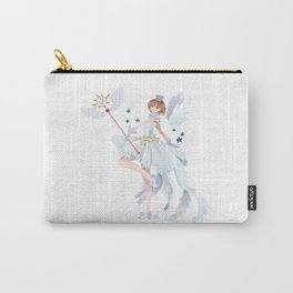 Clear card Carry-All Pouch