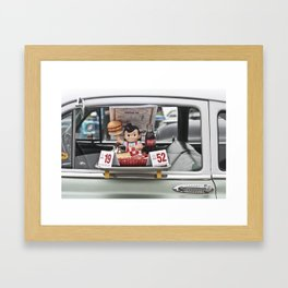 Bob's Big Boy Framed Art Print