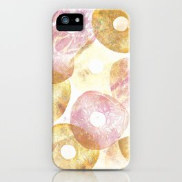 Donuts Texture iPhone Case