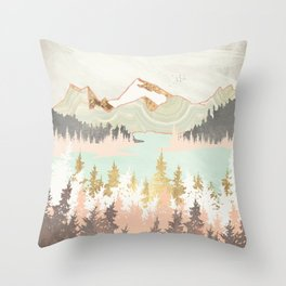 Winter Bay Throw Pillow