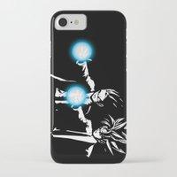 dbz iPhone & iPod Cases featuring DBZ Fiction by orangpalsu