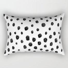 Messy Dots Rectangular Pillow