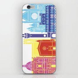 Siena skyline pop iPhone Skin