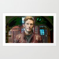 starlord Art Prints featuring Starlord by violethawk