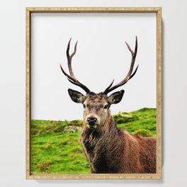 Stag Serving Tray