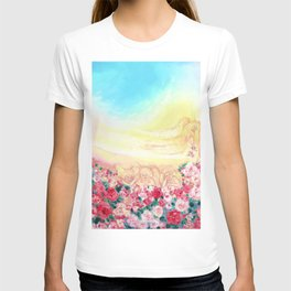 Angels and roses T-shirt