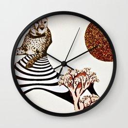 Inoxicating Magic Everyone Seeks Wall Clock