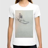 surfing T-shirts featuring SURFING by Katyb