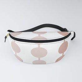 Pink spots print - Pearls Fanny Pack