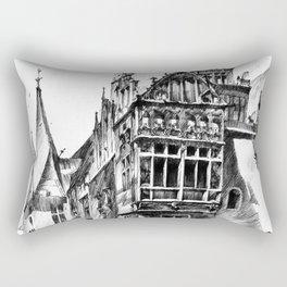 Wroclaw City Hall Rectangular Pillow