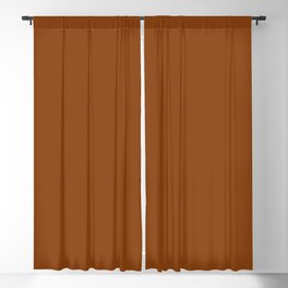 Rust - Solid Color Collection Blackout Curtain
