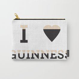 I heart Guinness Carry-All Pouch