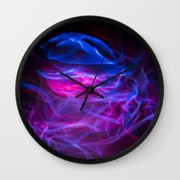 Glowsticks Wall Clock