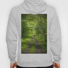 Trail Through Green Woods Hoody