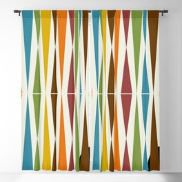 Mid-Century Modern Art 1.4 Blackout Curtain