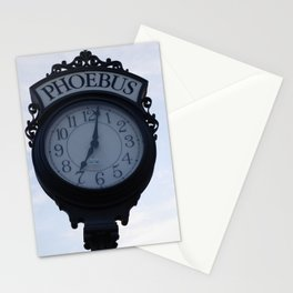 Einstein's clock is exactly one minute... Stationery Cards