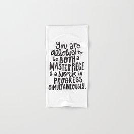 Masterpiece x Black & White Hand & Bath Towel