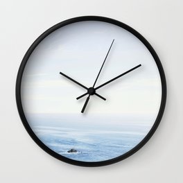 The Sea on a Sunny Day Wall Clock