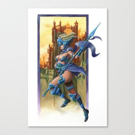 Sky Warrior Canvas Print