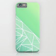 B Rays Geo Gradient Green iPhone 6s Slim Case