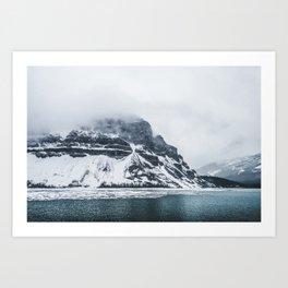 Bow Lake Alberta Art Print