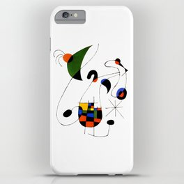 Joan Miro iPhone Case