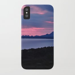 Harlech Sunset iPhone Case