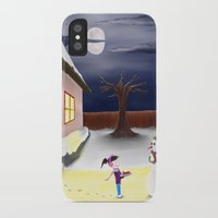 thanksgiving iPhone & iPod Cases featuring Happy Thanksgiving by blazingscribe