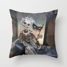 Rucus Studio Catrina In Waiting Throw Pillow