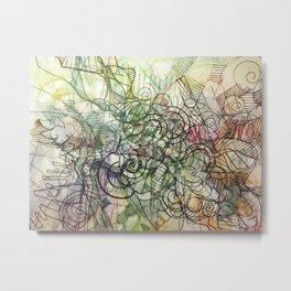 """Churning connectors; Flowing Zephyrs"" Metal Print"