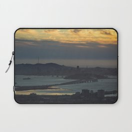 Bay Bridge and SF at Sunset Laptop Sleeve