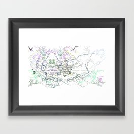 Skirts Framed Art Print