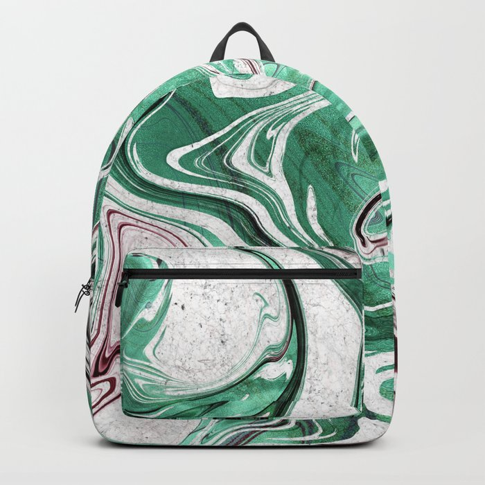 Absinthe Marble Backpack