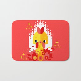 Year of the Rooster Bath Mat