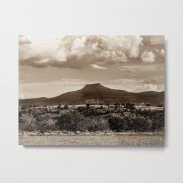 Pedernal Mountain, 2010 Metal Print