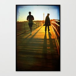 Old Man Intuition Canvas Print