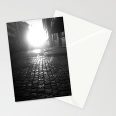 Late night, early morning Stationery Cards