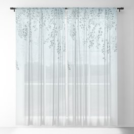 Foliage Shadow Sheer Curtain