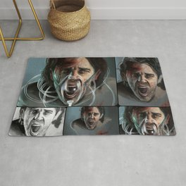 Cluster Headache Collage Rug