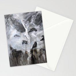 Fly Raven - fly Stationery Cards
