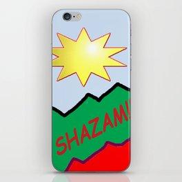 Shazam!! iPhone Skin