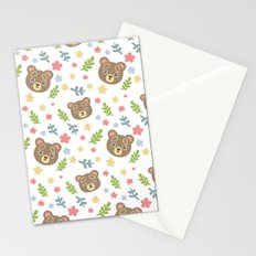 Spring Cute Bear Stationery Cards